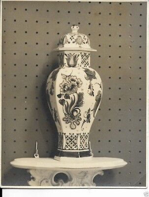 postcard of chinese porcelain vase dated 1958