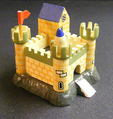1:12th Scale Wood Toy Castle - Fort Dolls House Miniature Nursery Toy Accessory