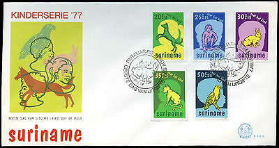 Suriname 1977 Child Welfare FDC First Day Cover #C30181