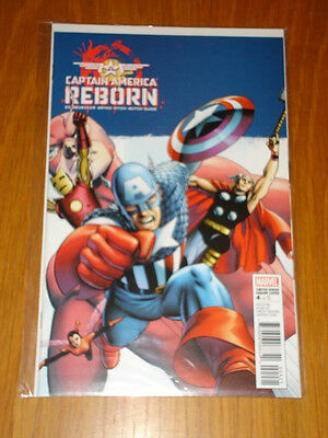 Captain America Reborn #4 Variant Edition Cover Marvel Comics
