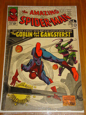 Amazing Spiderman #23 Vg (4.0) April 1965 3Rd Green Goblin App Ditko Marvel*
