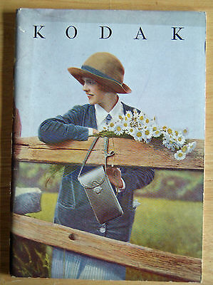 Kodaks and Kodak Supplies 1928 Catalog 64 Pages