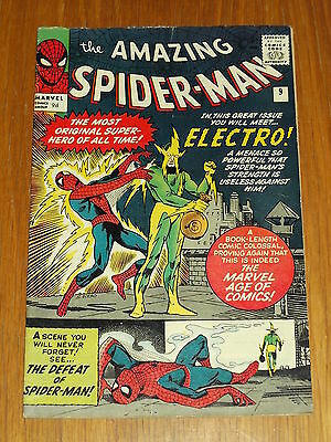Amazing Spiderman #9 Fn- (5.5) Marvel Electro February 1964 *