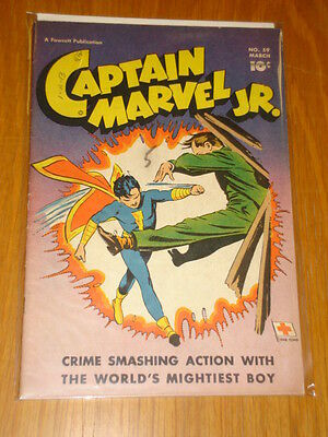 Captain Marvel Jr #59 Vg+ (4.5) 1948 March Fawcett*