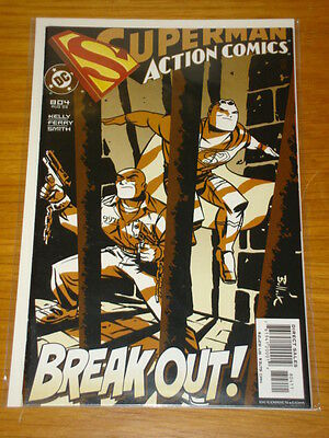 Action Comics #804 Dc Near Mint Condition Superman August 2003