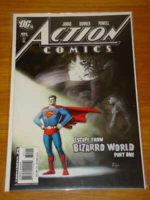 Action Comics #855 Dc Near Mint Condition Superman October 2007