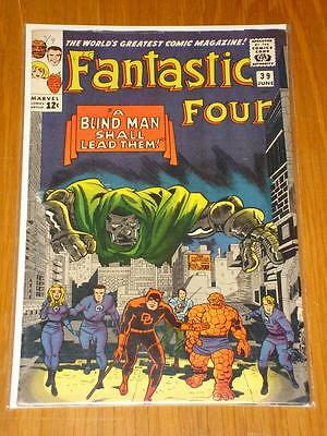 Fantastic Four #39 Marvel Comic Jun 1965 Fn- (5.5) *
