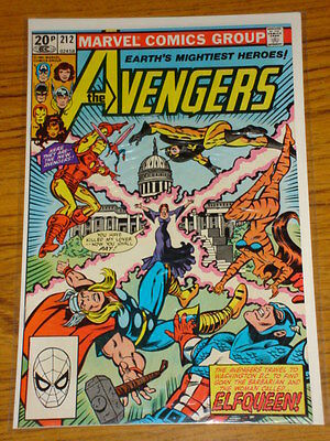 Avengers #212 Vol1 Marvel Comics October 1981