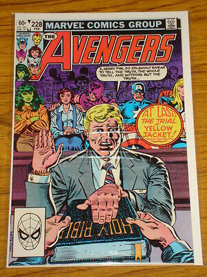 Avengers #228 Vol1 Marvel Comics Scarce February 1983