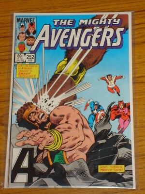 Avengers #252 Vol1 Marvel Comics February 1985