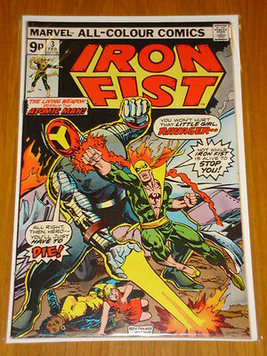 Iron Fist #3 Marvel Comics February 1976 Vf (8.0) *
