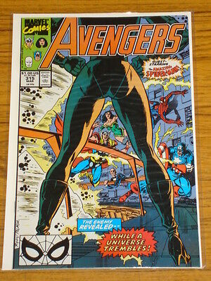 Avengers #315 Vol1 Marvel Comics Spiderman Apps March 1990