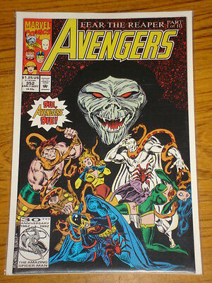 Avengers #352 Vol1 Marvel Comics September 1992