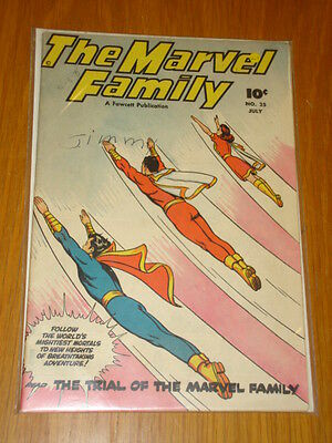 Marvel Family Comics #25 Vg+ (4.5) 1948 July Fawcett*