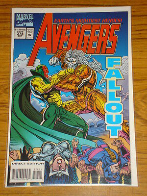 Avengers #378 Vol1 Marvel Comics Scarce October 1994