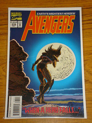 Avengers #379 Vol1 Marvel Comics Scarce October 1994