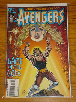 Avengers #384 Vol1 Marvel Comics Scarce March 1995