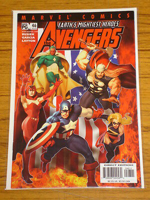 Avengers #46 Vol3 Marvel Comics November 2001