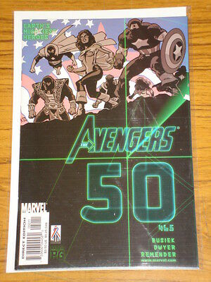Avengers #50 Vol3 Marvel Comics Double Size March 2002