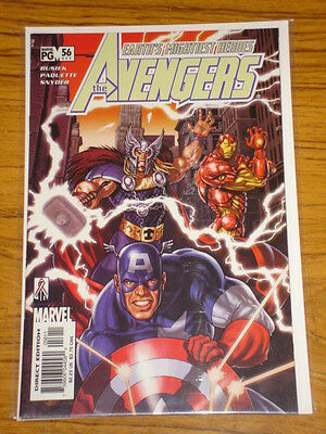 Avengers #56 Vol3 Marvel Comics September 2002