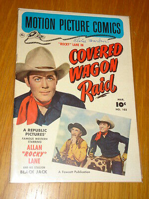 Motion Picture Comics #103 Covered Wagon Raid Fn- (5.5) 1951 March Fawcett*