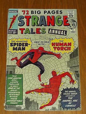 Strange Tales Annual #2 Vg (4.0) Marvel Spiderman Ditko July 1963 *