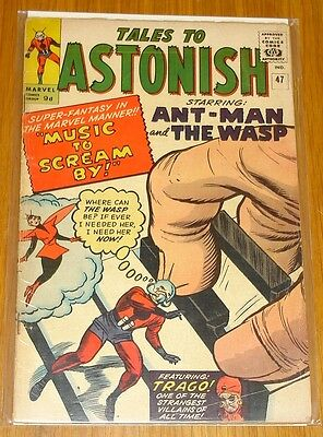 Tales To Astonish #47 G/vg (3.0) Marvel Comics Ant-Man Wasp App September 1963*