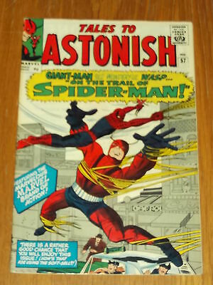 Tales To Astonish #57 Vf (8.0) Marvel Spiderman Giant-Man Wasp July 1964 *