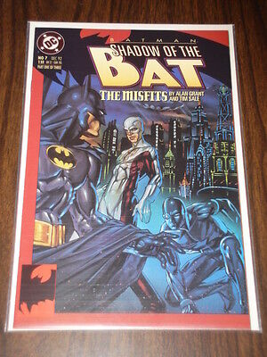 Batman Shadow Of The Bat #7 Dc Comics Dark Knight Nm December 1992