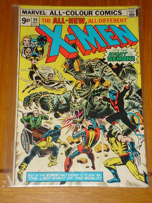 X-Men Uncanny #96 Marvel Comic Dec 1975 Vg/fn (5.0) *