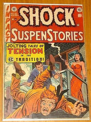 Shock Suspenstories #10 G/vg (3.0) Ec August September 1953*
