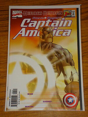 Captain America #1 Vol3 Sunburst Variant Marvel Comics January 1998