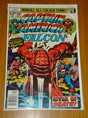 Captain America #208 Marvel Vf/nm Kirby 1St App Arnim Zola April 1977