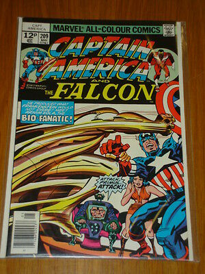 Captain America #209 Marvel Comic Near Mint Kirby Arnim Zola Story May 1977