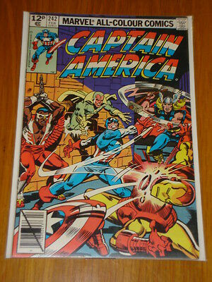 Captain America #242 Marvel Comic Near Mint Condition February 1980