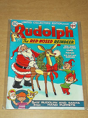 Dc Limited Collectors Edition #33 Vf (8.0) Rudolph Red-Nosed Reindeer Us Copy
