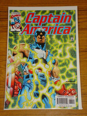 Captain America #38 Vol3 Marvel Comics February 2001