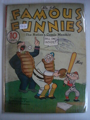 Famous Funnies #58 G (2.0) Golden Age Comic