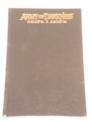 Army Of Darkness Hardback Scarce Ashes 2 Ashes  Dynamite  0974963887