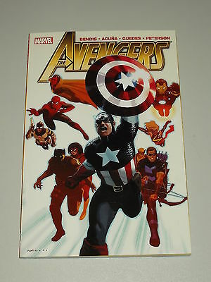 Avengers Vol 3 Marvel Bendis Acuna Guedes Peterson Graphic Novel 9780785151173