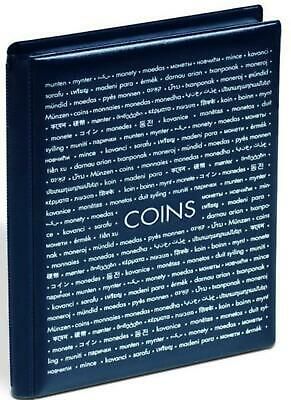 Numis coin album, 96 coin pockets, new half crown sized
