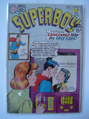 Superboy #90 Vg+  (4.5) Pete Ross Learns About Identity