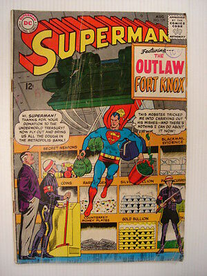 Superman #179 Vg- (3.5) Dc Comic