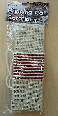 Brand New Hanging Cat Scratching Post Scratching By Pet Touch