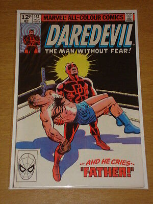 Daredevil #164 Marvel Comic Near Mint Miller Origin May 1980