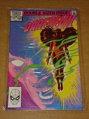 Daredevil #190 Marvel Comic Near Mint Miller Daredevil January 1983