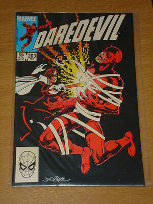 Daredevil #203 Marvel Comic Near Mint Condition February 1984
