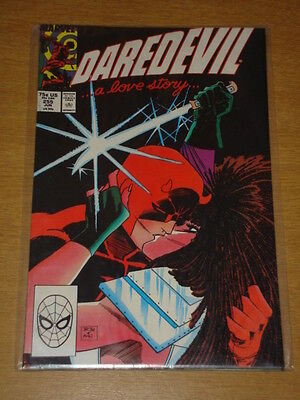 Daredevil #255 Marvel Comic Near Mint Typhoid June 1988