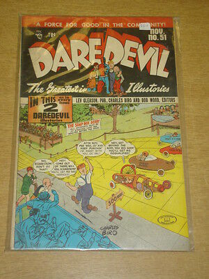 Daredevil #51 Vg+ (4.5) Lev Gleason Comics November 1948