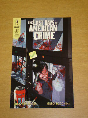 Last Days Of American Crime Graphic Novel New Paperback Collects 3 Part Series 13 99 Picclick Uk